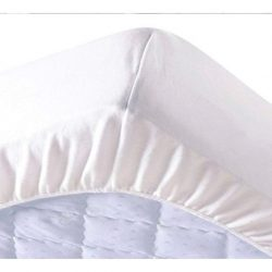 Pamut frottír vízhatlan körgumis matracvédő 90x200 cm