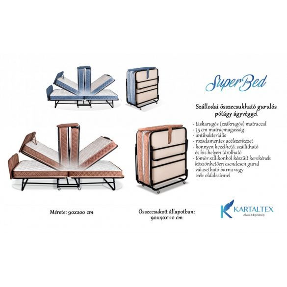 Truckle bed for hotels