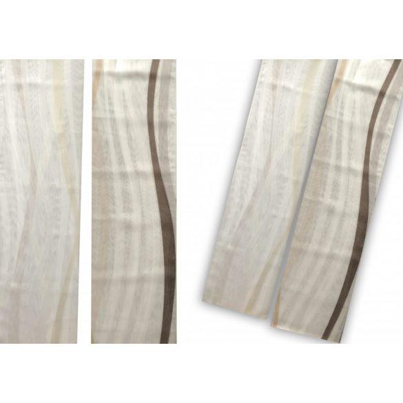 F6239  fehér - sötétbarna  / fehér - világosbarna