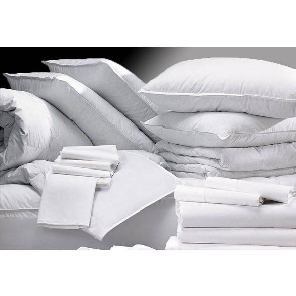 Fehér Pamut Vászonlepedő, 100% Pamut, 150x240 cm