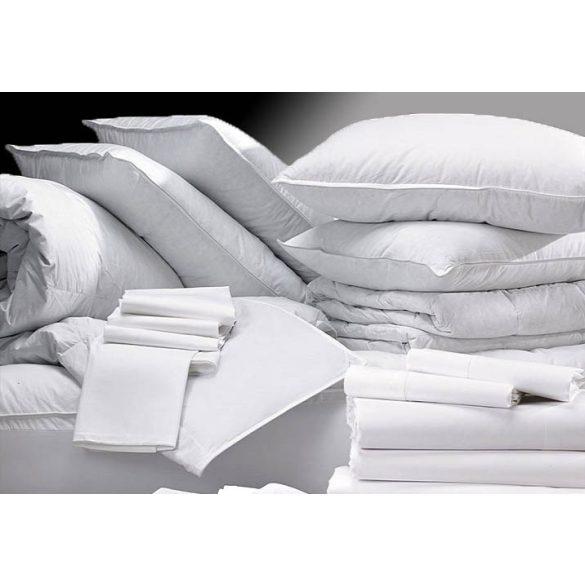 Szállodai Fehér Vászonlepedő, 220x280 cm, Kevertszálas