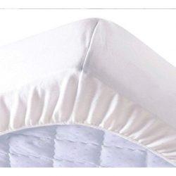 Cotton terry water resistant körgumis mattress protector 100x200 cm+30 cm