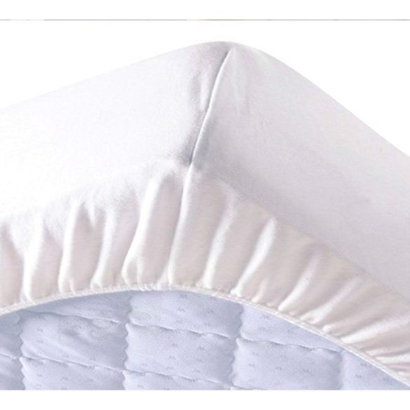 Pamut frottír vízhatlan körgumis matracvédő 180x200 cm + 30 cm