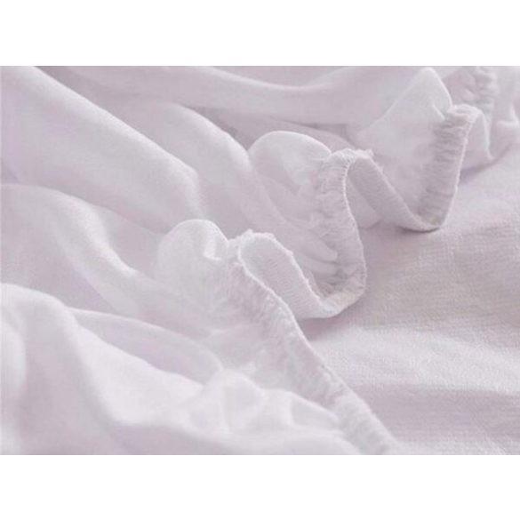 Cotton terry water resistant körgumis mattress protector 90x200 cm+30 cm