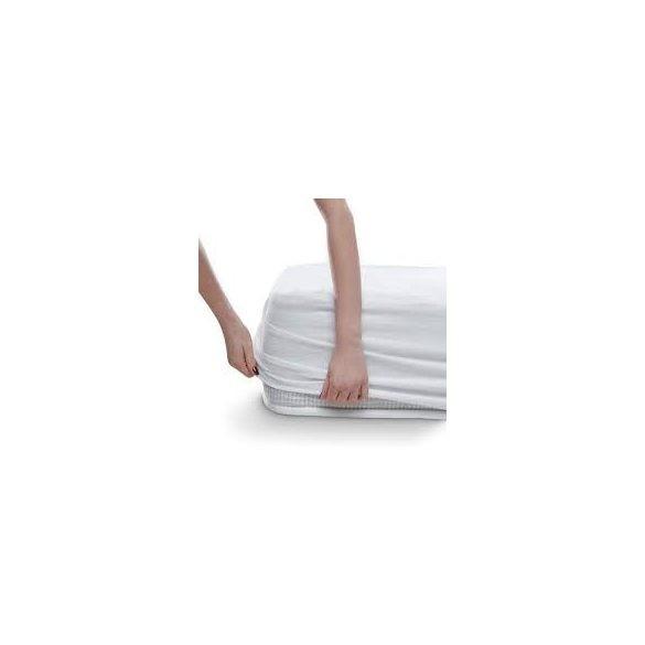 MATRACVÉDŐ VÍZHATLAN Körgumis- Pamut jersey felső 180x200 cm+30cm