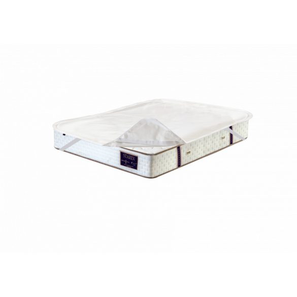 Cotton terry water resistant sarokgumis mattress protector 160x200 cm